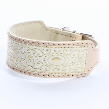 DG collar with ribbon Baroque Gold M