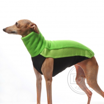 DG OUTDOOR FLEECE TOP LIME LIMITED