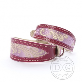 DG Exclusive Halsband PINK JAPAN ROSE