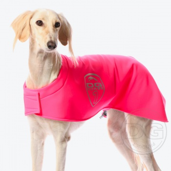 DG RACING WARM UP BLANKET SAFETY PINK