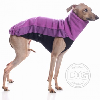 DG OUTDOOR FLEECE TOP PURPLE LIMITED